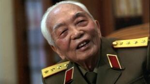 Đại tướng Võ Nguyên Giáp.