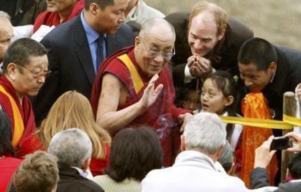 Далай-лама в Цюрихе