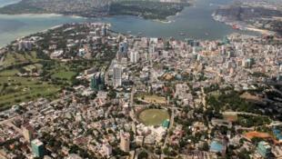 Vue de Dar es Salaam, capitale de la Tanzanie.