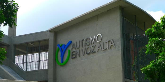 Sede de la Fundación Autismo en Voz Alta, Caracas, Venezuela.