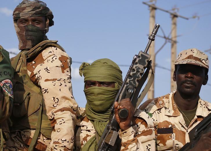 Wasu daga cikin dakaru dake fada da kungiyar Boko Haram tsakanin Kamaru da Chadi da Najeriya