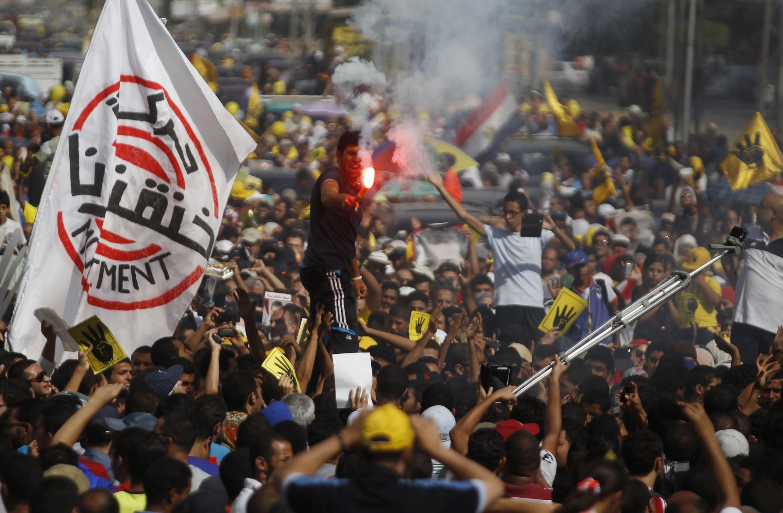Huynh đệ Hồi giáo huy động biểu tình ở nhiều thành phố lớn - REUTERS /Amr Abdallah Dalsh