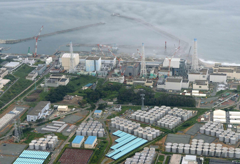 Vista aérea da usina nuclear de Fukushima Daiichi, onde foram detectados níveis de radiação 18 vezes acima dos índices previstos nas imediações.
