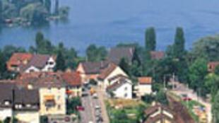 Une vue du canton de Thurgovie en Suisse.