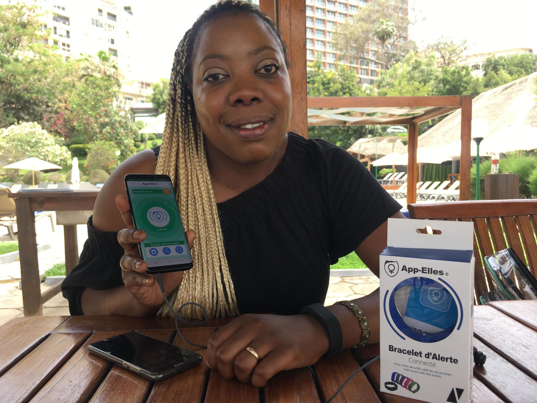 Diarata Ndiaye a créé «App'Elles» en 2015, une application sur smartphone mais aussi un bracelet connecté.