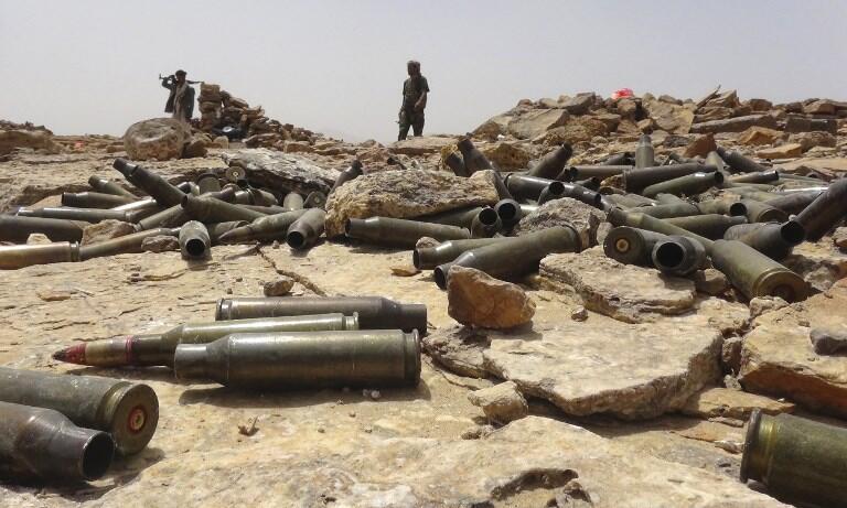 Des armes utilisées lors de la guerre au Yémen (photo d'illustration).