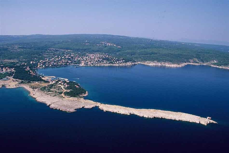 Ile de Krk en Croatie.