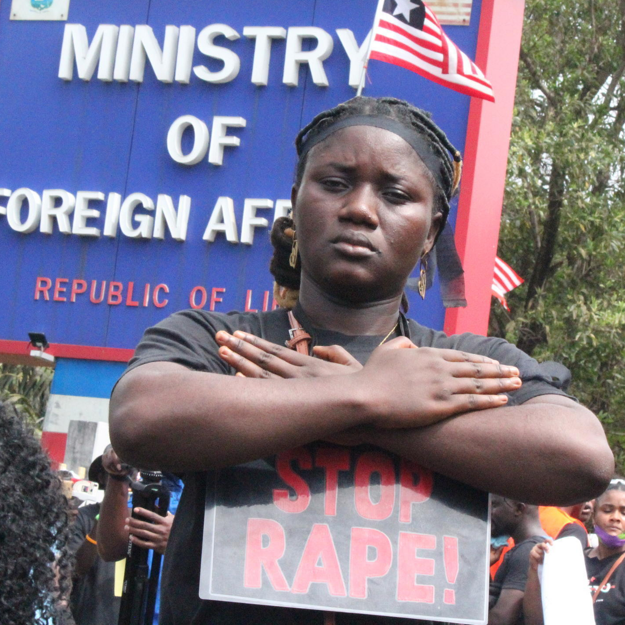 Liberia Police Tear Gas Anti Rape Protesters On Third Day Of Monrovia March