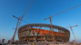 The yet-to-be-completed Lusail Stadium, around 20km north of Doha, will host the 2022 World Cup final