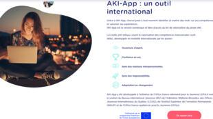 AKI-App aide les jeunes à valoriser leurs compétences acquises lors d'une expérience à l'étranger.