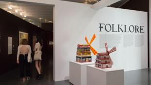 Une vue de l'exposition «Folklore» au centre Pompidou Metz.