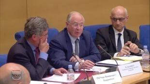 ژان بیزه و فیلیپ بُنکرر دو سناتور فرانسوی