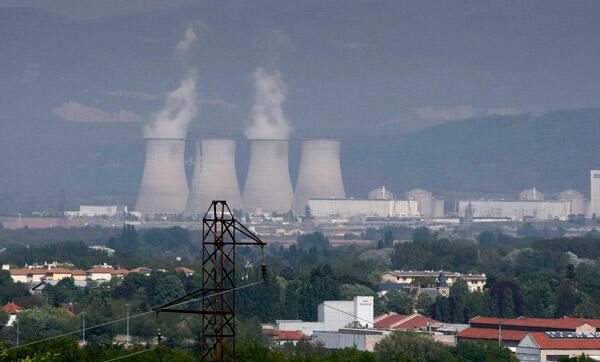 La centrale nucléaire de Bugey à Saint-Vulbas, près de Lyon.
