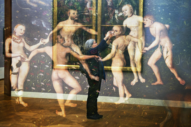 Serie 'Los Espíritus del  Museo'. Múnich, Antigua Pinacoteca