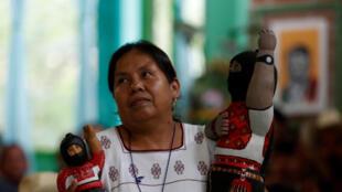 Maria de Jesus Patricio représentera l'Armée de zapatiste de libération nationale à l'élection présidentielle mexicaine de 2018.