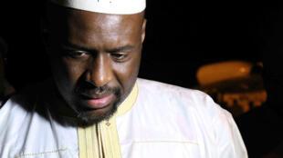 Moussa Mara en 2014, alors qu'il était Premier ministre du Mali.