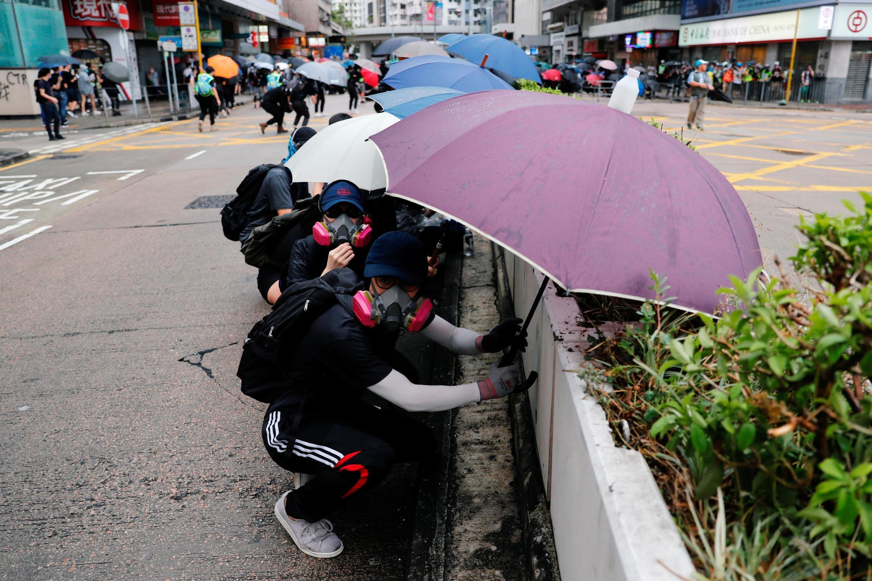 Demonstration in Hong Kong, Sunday, 6 October 2019.