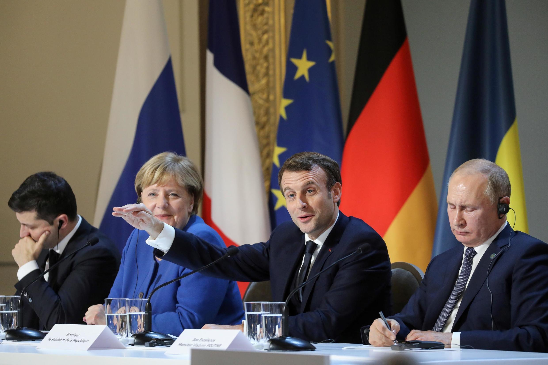 法德乌俄四国2019年12月9日诺曼底新版峰会