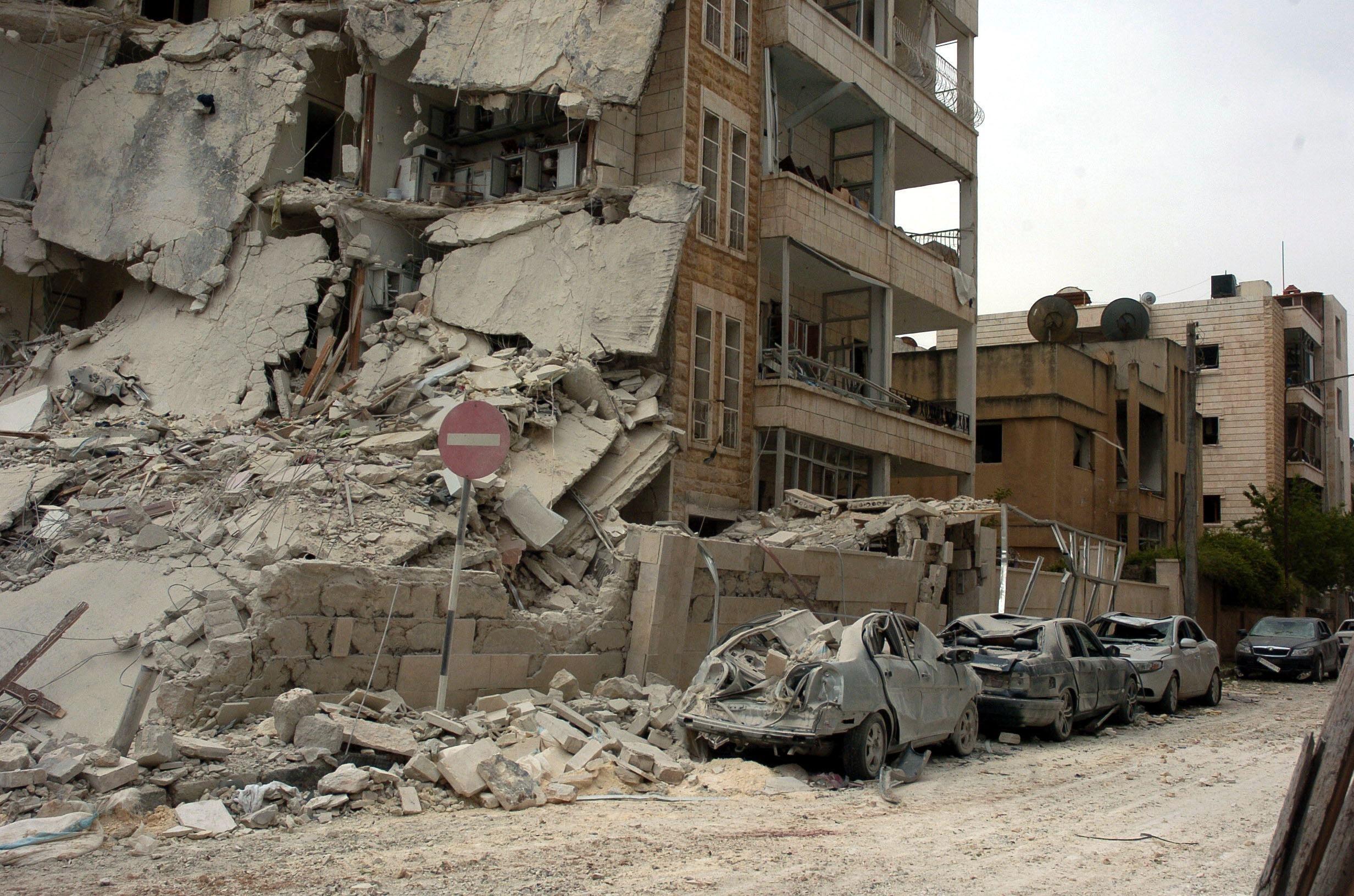 Mashambulizi ambayo yanaendelea kushuhudiwa nchini Syria katika Mji wa Idlib na kuleta madhara