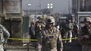 Des soldats américains en Afghanistan. (Image d'illustration)