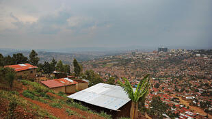 Vue de Kigali, la capitale du Rwanda, en septembre 2013.