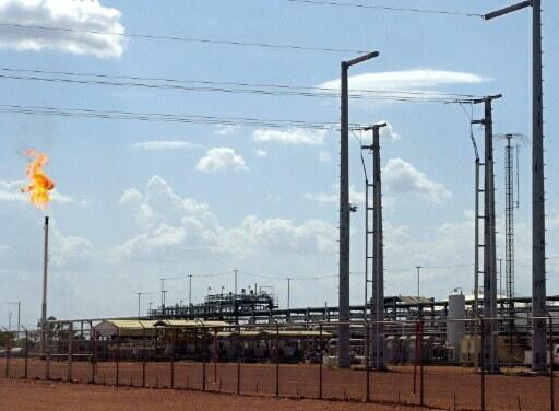 Raffinerie de Ngalaba au Tchad.