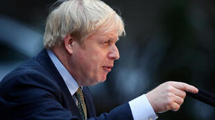 Waziri Mkuu wa Uingereza Boris Johnson.