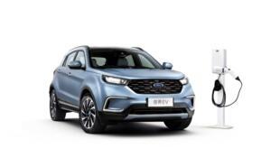 一款在中国生产的纯电动汽车(EV)