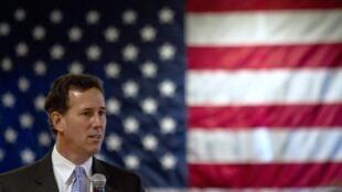 Vitória de Santorum (foto) republicano acontece graças a eleitorado conservador de Louisiana.