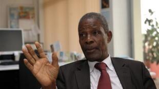 Le Premier ministre de transition guinéen Jean-Marie Doré.