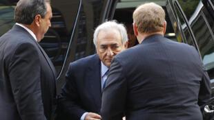 Dominique Strauss-Kahn a su llegada al Tribunal de Nueva York el 6 de junio de 2011.