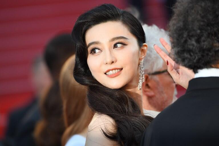 L'actrice chinoise Fan Bingbing arrive au festival de Cannes, le 28 mai 2017.