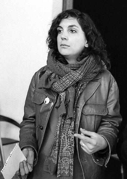 A jornalista francesa Edith Bouvier, ferida na Síria