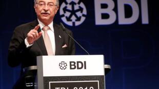 Le président du BDI, Dieter Kempf, le 4 juin 2019.