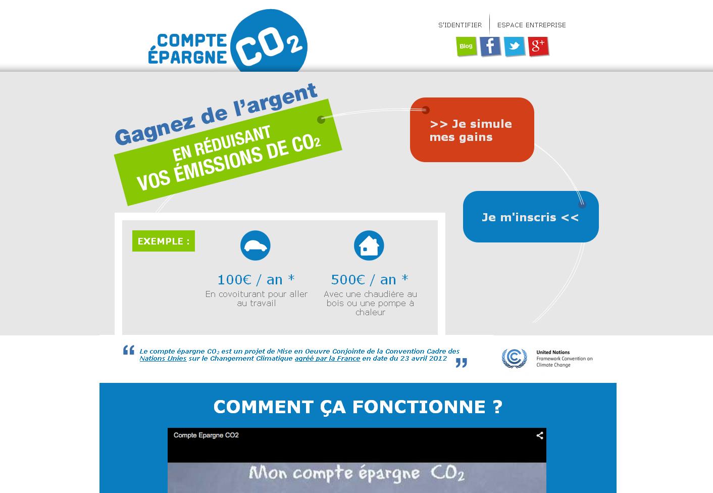 Jusqu'à présent 4000 particuliers ont ouvert un compte, encore loin des 27 millions de ménages français que Jean-Luc Baradat aimerait conquérir. L'entrepreneur espère que son concept agréé par l'Etat soit promu par la France à l'occasion de la COP21.
