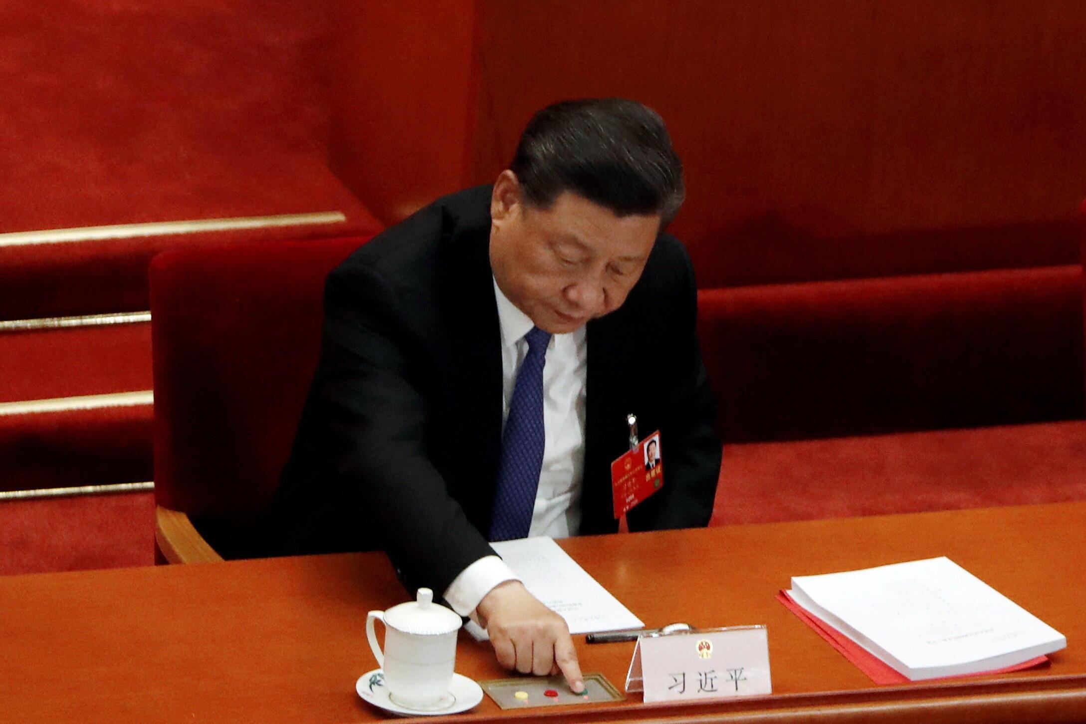 Xi Jinping - Hong Kong