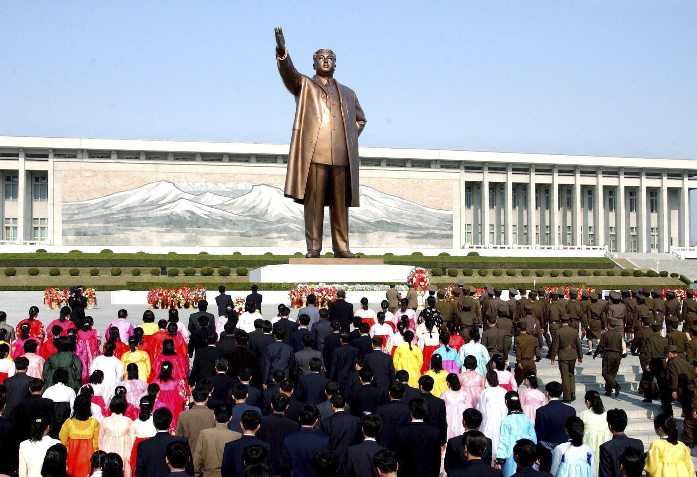 Comme tous les Nord-Coréens, Monica Macias admirait le «grand dirigeant» Kim Il-sung.