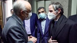 دیدار مدیرکل آژانس بینالمللی انرژی اتمی با رئیس سازمان انرژی اتمی ایران در تهران
