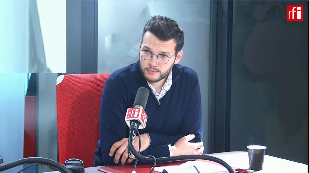 Aurélien Sebton sur RFI, le 7 mai 2019.