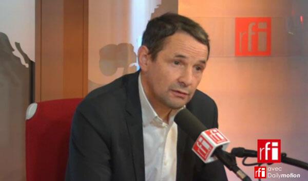 Thierry Mandon, secrétaire d'État auprès de la ministre de l'Éducation nationale, chargé de l'Enseignement supérieur et de la recherche.