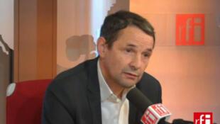 Thierry Mandon, député de l'Essonne, porte parole du groupe PS à l'Assemblée nationale.
