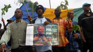 Ken Saro-Wiwa _ Nigeria _ manifestation