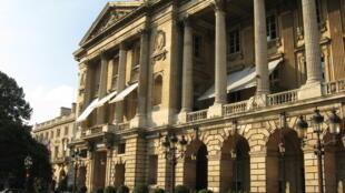 Le Crillon, l'un des hôtels de luxe parisiens.