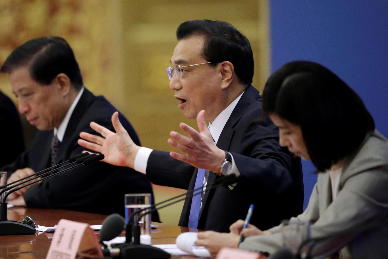 中国政府总理李克强 2019年3月15日 于北京