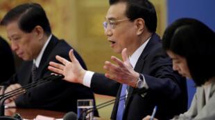 中國政府總理李克強 2019年3月15日 於北京