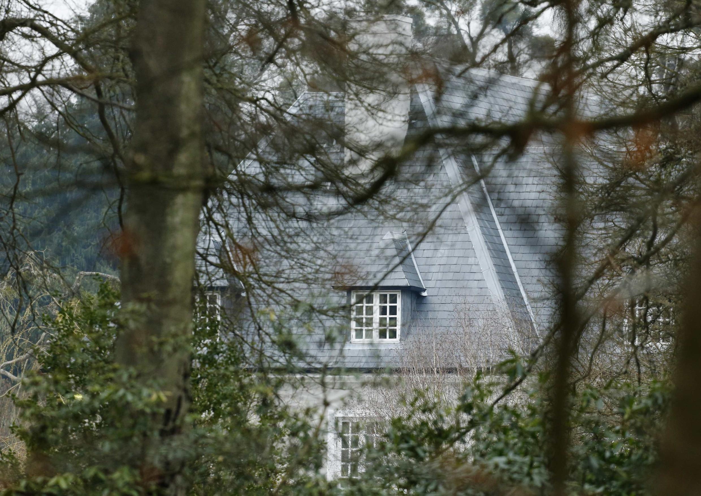 Дом Бориса Березовского в Беркшире, где было обнаружено его тело. Великобритания 24/03/2013