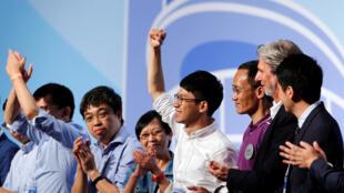 带领雨伞运动的罗冠聪膺成为最年轻立法会议员
