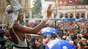 Le carnaval de Rio de Janeiro, le 1er mars 2019.