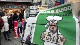 最新一期《查理周刊》在法国供不应求