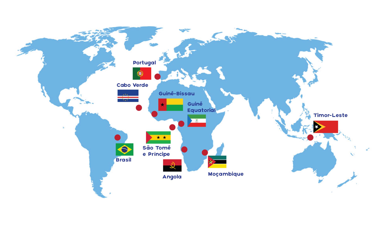 Image RFI Archive / L'Angola prend aujourd'hui la présidence tournante de CPLP - organisation lusophone composée de 9 États-membres, le 17/07/2021